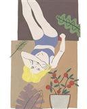 Lying Woman II Art Print