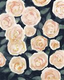 Peach Petals I Art Print