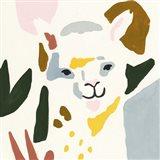 Llama Moderne I Art Print