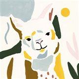 Llama Moderne II Art Print