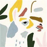 Llama Moderne III Art Print