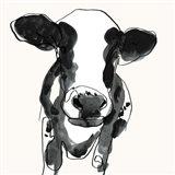 Cow Contour II Art Print