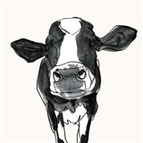 Cow Contour III Art Print