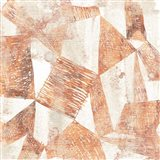 Red Earth Textile II Art Print