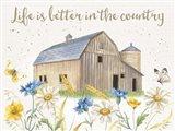 Nostalgic Farm I Art Print
