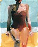 Vintage Swim II Art Print