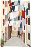 Laundry Day II Art Print