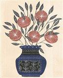 Vase of Flowers I Art Print