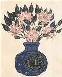 Vase of Flowers III Art Print