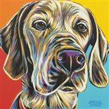 Canine Buddy II Art Print