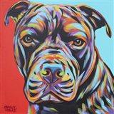 Canine Buddy III Art Print