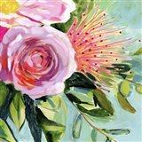 Brushy Floral I Art Print