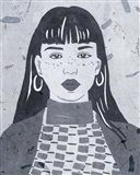 Night Portrait I Art Print