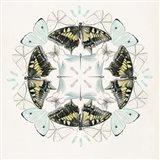 Butterfly Mandala I Art Print