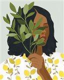 Botany Portrait I Art Print