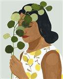 Botany Portrait II Art Print