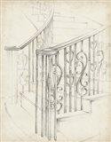 Iron Railing Design II Art Print