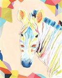 Safari Party II Art Print