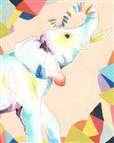 Safari Party III Art Print