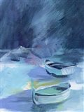 Cove Boats II Art Print