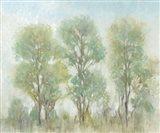 Muted Trees I Art Print