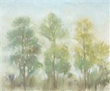Muted Trees II Art Print
