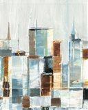 City Colors I Art Print