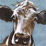 Cow Kisses II Art Print