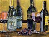 Still Life with Wine I Art Print