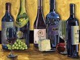 Still Life with Wine II Art Print