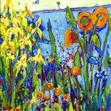 Yellow Garden II Art Print
