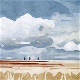 Prairie Landscape I Art Print