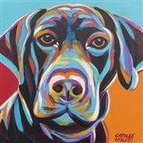 Dog Friend II Art Print