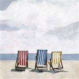 Beach Trip II Art Print