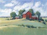 Rural Farmland I Art Print