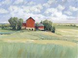 Rural Farmland II Art Print