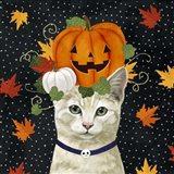 Halloween Cat I Art Print