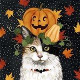 Halloween Cat II Art Print