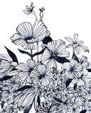 Wildflower Tangle II Art Print