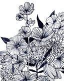 Wildflower Tangle III Art Print