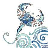Undersea Luau IV Art Print