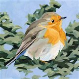 Painterly Bird I Art Print