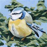 Painterly Bird II Art Print