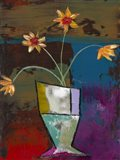 Abstract Expressionist Flowers II Art Print