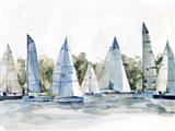 Pastel Marina I Art Print