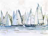 Pastel Marina II Art Print