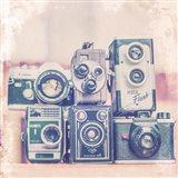 Vintage Camera II Art Print