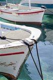 Workboats of Corfu, Greece III Art Print
