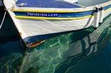 Workboats of Corfu, Greece IV Art Print