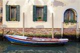 Venice Workboats II Art Print